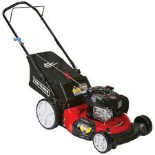 Craftsman 7.25 ft-lb 163cc OHV 21in 3-in-1 Push Lawn Mower, Mulch, Clip with bag