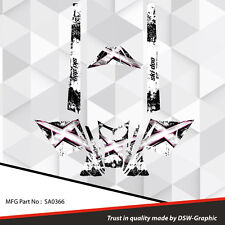 SLED WRAP DECAL STICKER GRAPHICS KIT FOR SKI-DOO REV MXZ SNOWMOBILE 03-07 SA0366