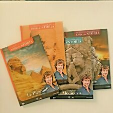 Viaggio nella storia Alberto Angela - 4 libri - Egitto, Cesare, Medioevo