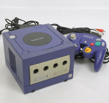 """Game Cube VIOLET Console System DOL-001 Nintendo Tested """"NTSC J Ref DN11955960"""