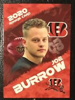 2020 Joe Burrow NFL Draft Limited Edition Rookie Card Cincinnati Bengals