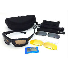 Tactical Military Airsoft Anti-fog Dust Regulator Safety Goggles Glasses Set
