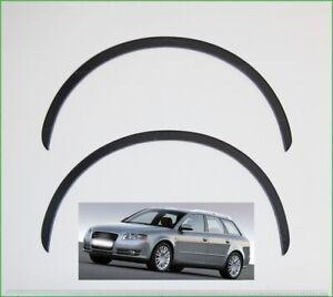 AUDI A4 B7 Front wheel arch trims Black Matt styling kit 2 pcs wing panel '04-08