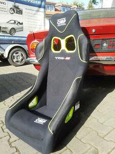 2 Sportsitz FIA  Rennsport Schalensitz Top Qua  kein Recaro Sparco Sitz ein OMP