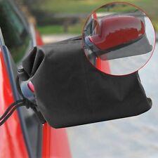 2X Winter KFZ Auto Abdeckungen Rückspiegel Schutzabdeckung Snow Cover 27x24CM