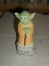 Star Wars YODA Plaster Mini Statue LOOSE/NO BOX BROKEN