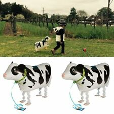 Helium Wedding Animal Pet Shower Birthday Party Foil Balloon Cow Shaped
