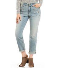 NYDJ Stone Embellished Boyfriend Jeans Size 8  BRAND NEW! Retail Tag $168.00