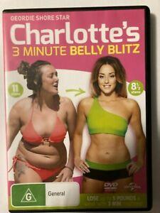 Charlotte's 3 Minute Belly Blitz  - DVD