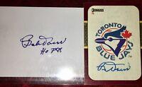 Bobby Doerr #1 former Boston Red Sox MLB HOF auto autograph baseball card LOT X2