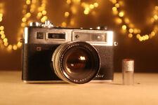 YASHICA Electro 35 GSN 35mm Rangefinder Camera - Yashinon DX 45mm f1.7 - WORKING
