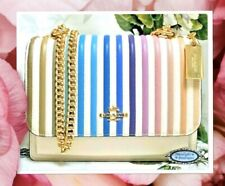 NWT COACH OMBRE QUILTED KLARE Crossbody Bag In CHALK MULTI-Color Stripe Leather