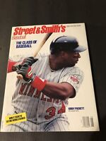 1992 Street & Smith's Official Yearbook MINNESOTA Twins KIRBY PUCKETT Mr CLASS