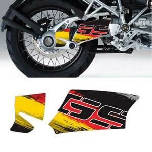 NEW Motorcycle USA Italy Flag Reflective Decal Case for BMW R1200GS 2004-2013