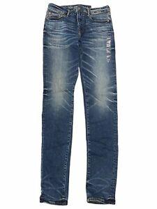 NWT AMERICAN EAGLE Next Level AirFlex Super Skinny Jeans 32x36 Medium #946318
