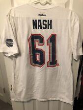Rick Nash New York Rangers Reebok 2014 Stadium Series Shirt Size XL