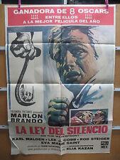 A3495 La ley del silencio Elia Kazan Marlon Brando, Eva Marie Saint, Karl Malden