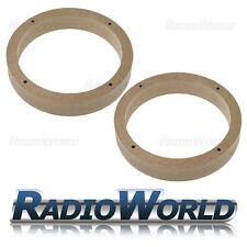 "VW Golf/Passat/Fabia/Polo/Leon MDF Speaker Adaptor Kit Rings Spacers 165mm 6.5"""