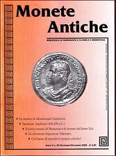 Monete Antiche n° 30 - 2006 Aquilonia  monete Fiume Liri - porto romano Minturno