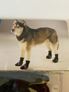 Guardian Gear Dog XLarge Boots Paw Shoes Orange/Black Reflective NEW
