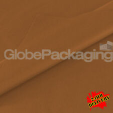1000 SHEETS OF BROWN COLOURED ACID FREE TISSUE PAPER 375mm x 500mm *24HR DEL*