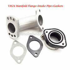 Carb Intake Adapter Boot Rubber Pipe Flange Gasket Set For 150cc 160cc 200cc