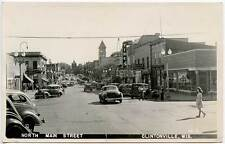 Clintonville WI Street Vue Times Theatre Movie Marquee RPPC Real Photo Postcard