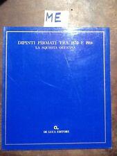 DIPINTI FIRMATI TRA 1870 E 1914 - STEFANELLI TOROSSI - DE LUCA - 1981