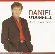 DANIEL O'DONNELL - Live, Laugh, Love (UK 16 Tk CD Album)