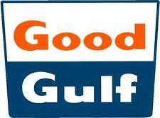 Good Gulf Gasoline Vinyl Decal Sticker (a3116) 12 Inch