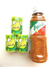 TAJIN 5oz & LIMON 7 SALERO COMBO, Mexican Candy,  Great w/ TEQUILA & BEER!!