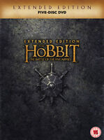 The Hobbit: The Battle of the Five Armies - Extended Edition DVD (2015) Martin