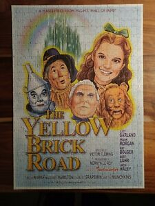 The Yellow Brick Road jigsaw puzzle 550 piece Complete Wizard of Oz Movie Poster