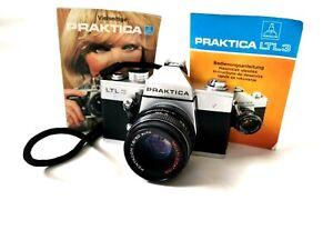 Praktica LTL 3 + Pentacon   1.8/50 red MC  for M42