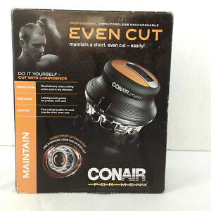 Conair Even Cut HC900ANC Hair Cutting Cordless Rechargeable Clipper Trimmer Kit