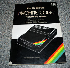Vintage Sinclair ZX Book - The Spectrum Machine Code Reference Guide