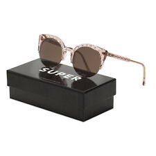 a02d0340133 Super Lucia Vixen Sunglasses by Retrosuperfuture SUSYP Pink   Brown Zeiss  Lenses