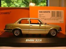 WOW EXTREMELY RARE MAXICHAMPS 1/43 1975 BMW 323i ( E21) OUTSTANDING DETAIL NLA