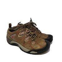 Keen Dry Mens Hiking Shoes Sneakers Boots Lace Up Size 7 Brown Outdoor Sport GUC