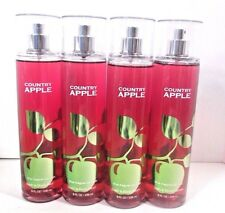 Bath Body Works Country Apple Mist x4
