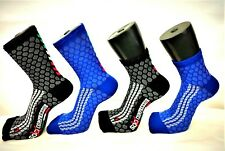Calzini Compressione Uomo Donna Road Mountain Bike Runing Spinning MTB MBX Calze