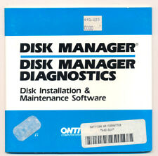 ONTRACK Disk Manager Software(HD Install) for IBM PC Hard Drives - 5.25 Disk