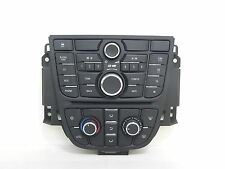 OPEL ASTRA IV J CENTRAL CONTROL PANEL CD 400 13337218 13337691 28243186 28243207