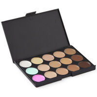 15 Shades Colour Concealer Contour Makeup Palette Kit Make Up Set EN