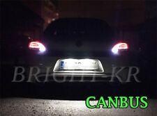 VW SCIROCCO 2008+ XENON ICE WHITE Number Plate LED LIGHT UPGRADE- ERROR FREE