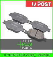 Fits TOYOTA CELICA ZZT23_ Pad Kit, Disc Brake, Front