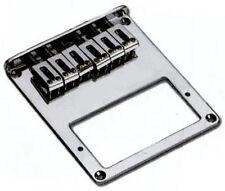 Telecaster® style electric guitar bridge -Fits bridge humbucker pickup - Chrome