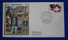"Canada (1270) 1990 Multiculturalism Colorano ""Silk"" FDC"