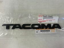 TOYOTA TACOMA NEW FACTORY MATTE BLACK 11 1/2  INCH EMBLEM