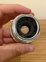 AGFA Color Solinar 1:2.8 50mm Camera Lens Great Condition Clean Optics
